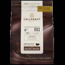 2,5 kg Gocce di cioccolato Fondente, confezione salva freschezza