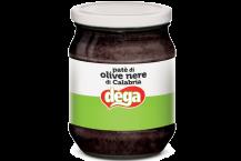 580 gr Patè di olive nere